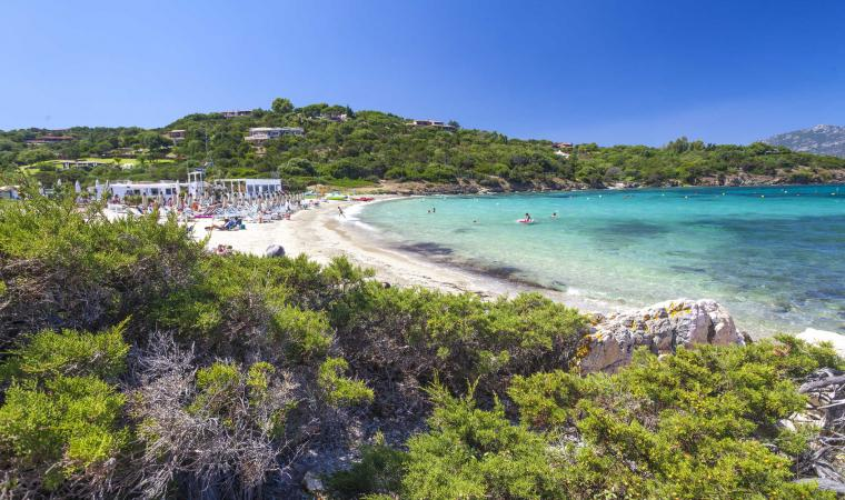Porto Rotondo, spiaggia i Sassi
