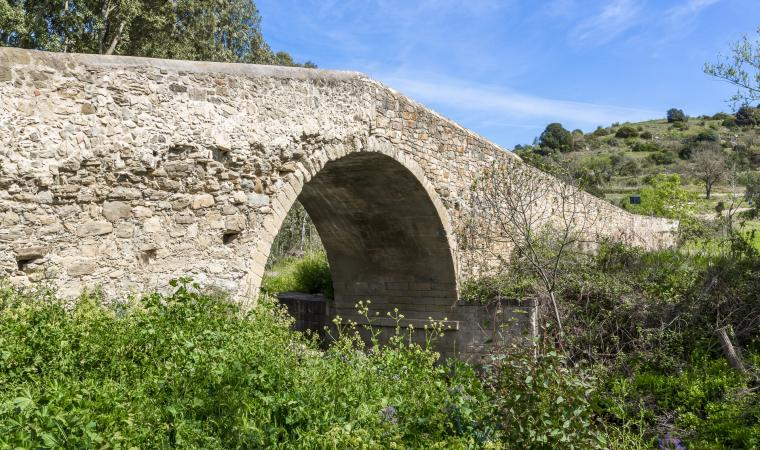 Ponte romano - Gonnoscodina