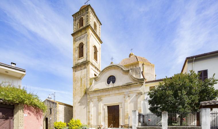 Chiesa di san Sebastiano - Gonnoscodina