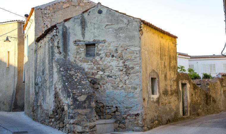 Scorcio del centro storico - Irgoli
