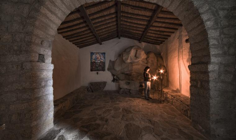 Chiesa di san Trano, interno  - Luogosanto