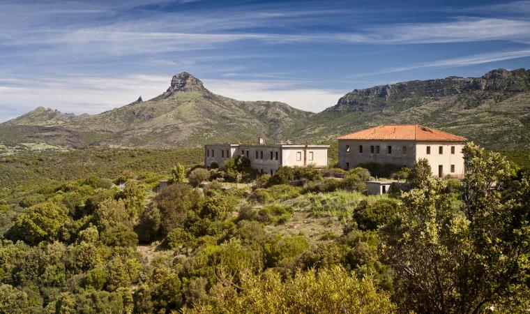 Monte Arcuentu, vista da Ingurosu
