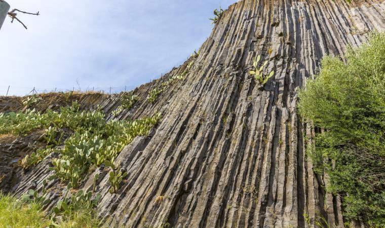 Guspini - Basalti colonnari
