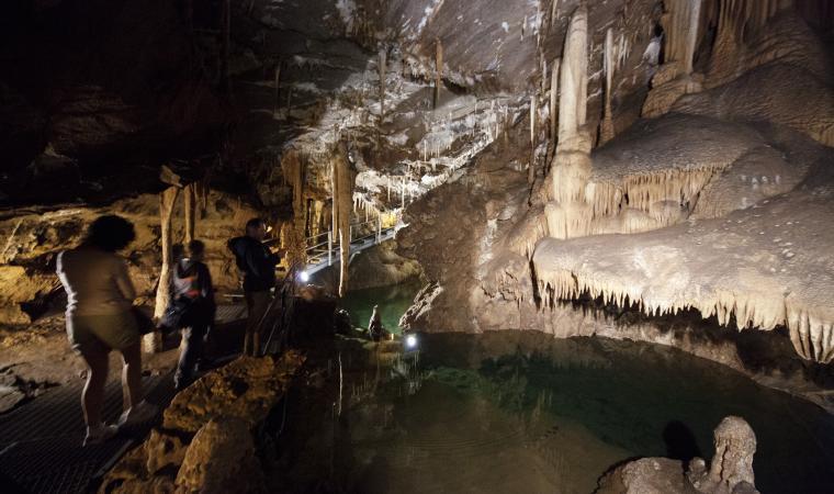Grotta su Mannau, interno