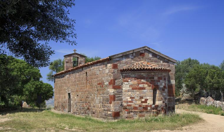 Chiesa di san Giorgio, abside - Perfugas