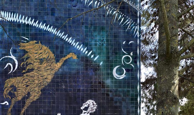Murale di Aligi Sassu - Thiesi
