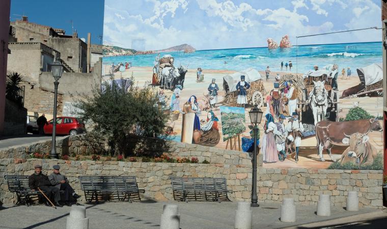 Murales di Loceri