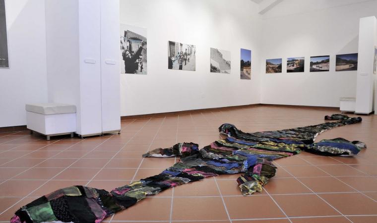 Museo stazione dell'arte, interno