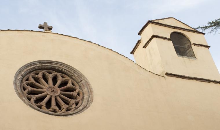Antica chiesa Madonna delle Grazie, particolare campanile