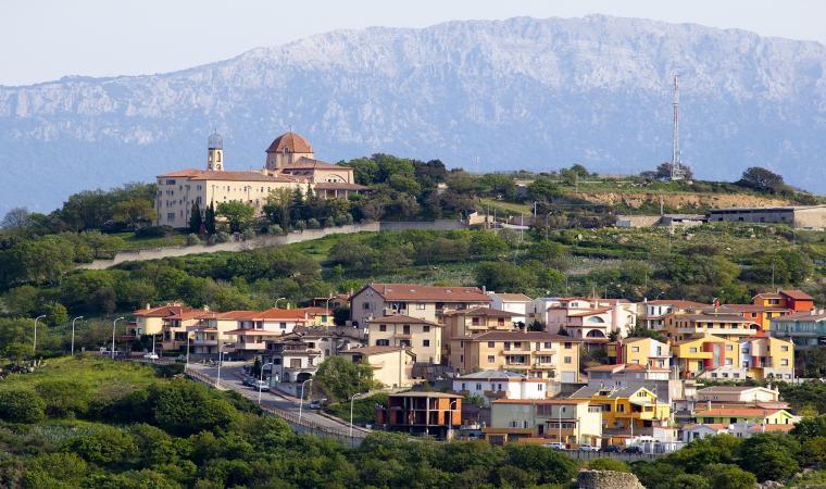 Monastero delle Carmelitane, veduta