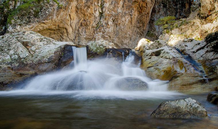 Rio 'e Forru e Pirincanes, cascata