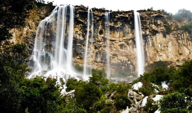 Lequarci e Lecorci, cascata - Ulassai