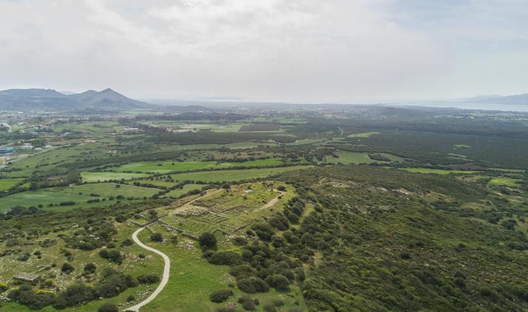 Monte Sirai, veduta - Carbonia