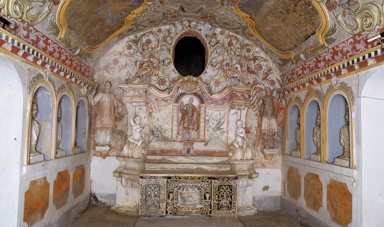 Santuario dei Maritiri, cripta - Fonni
