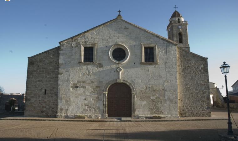 Chiesa di san Giacomo, facciata - Mandas