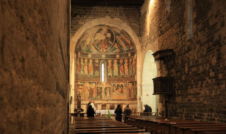 Basilica Santissima Trinità di Saccargia, affreschi - Codrongianos