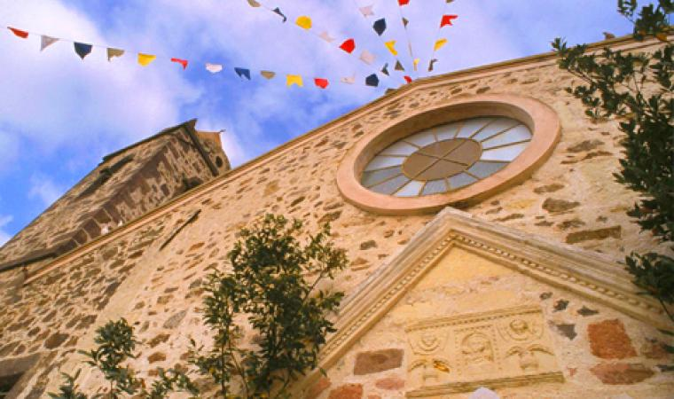 Chiesa di san Gregorio, facciata - Bauladu