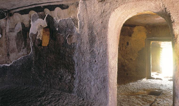 Sant'Andrea Priu, necropoli - Bonorva