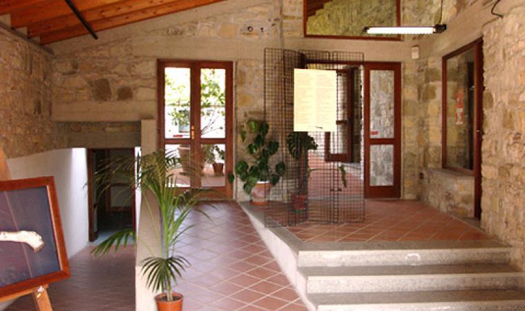 Museo archeologico, sala interna - Villanovaforru