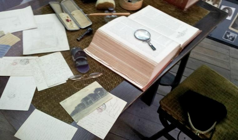 Studio della scrittrice Grazia Deledda - Casa museo - Nuoro