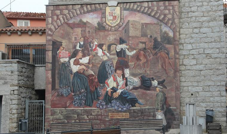 Murales, ultima bardana 1870 - Alà dei Sardi