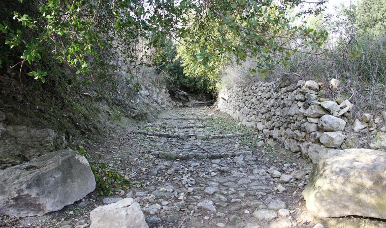 Strada romana di sos Bajolos - Cargeghe