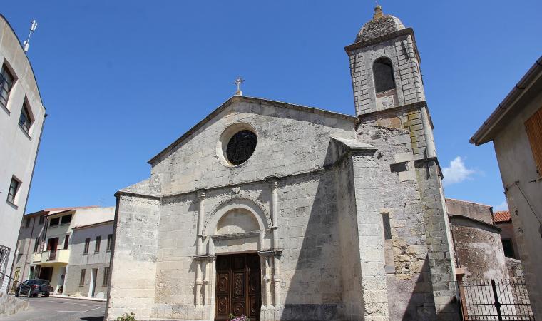 Chiesa di san Gabirele, facciata - Cheremule