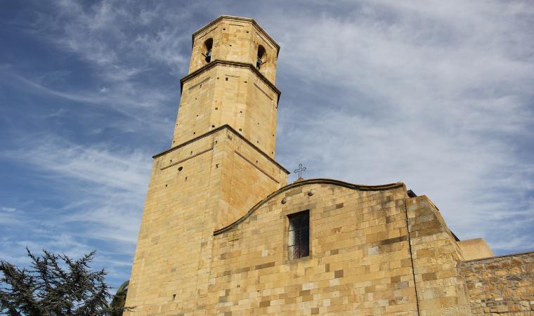 Chiesa di san Michele, facciata - Collinas