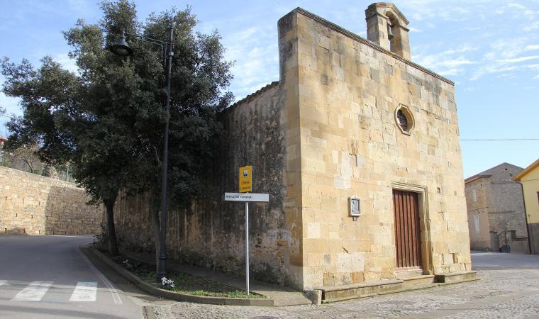 Chiesa di san Sebastiano - Cossoine