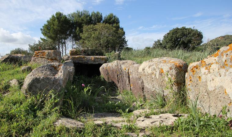 Tomba di Giganti di Sedda sa Caudeba - Collinas