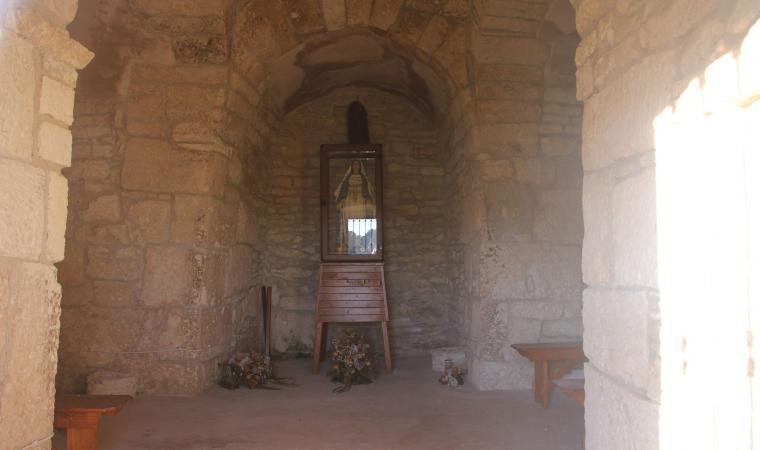 Chiesa di santa Maria Iscalas, interno - Cossoine