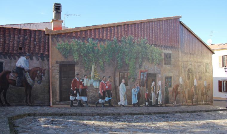 Murales a Cossoine