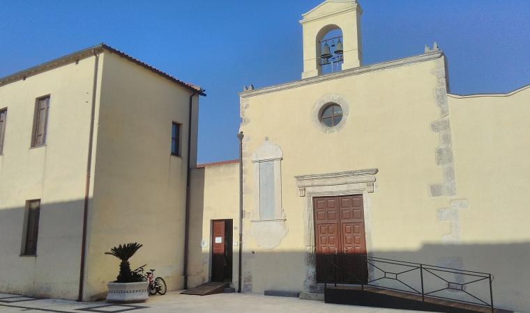 Chiesa di sant'Antioco, facciata - Villasor