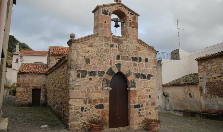 Chiesa di Santa Croce - Ittireddu
