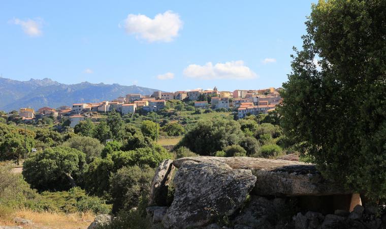 Panorama di Luras
