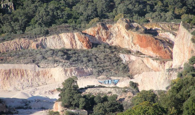 Cava di caolino - Mara