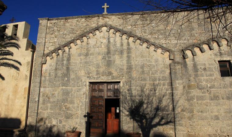 Chiesa di santo Stefano, facciata  - Monteleone Rocca Doria