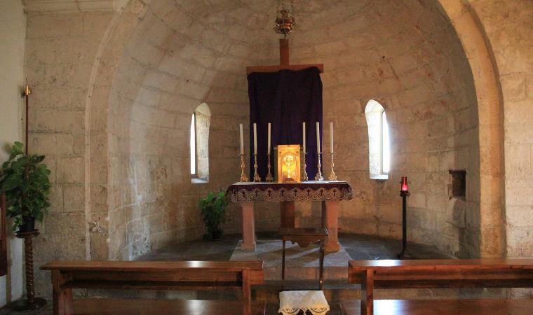 Chiesa di santo Stefano, interno - Monteleone Rocca Doria
