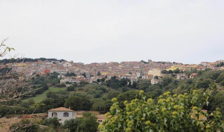 Veduta di Pattada