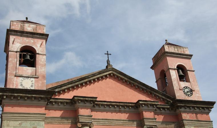 Chiesa di santa Maria degli angeli, facciata - Santu Lussurgiu