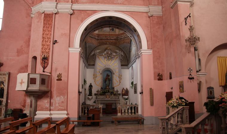 Chiesa di santa Maria degli angeli, interno - Santu Lussurgiu