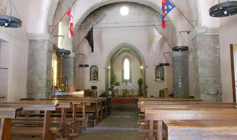Chiesa di san Leonardo di Siete Fuentes - Santu Lussurgiu