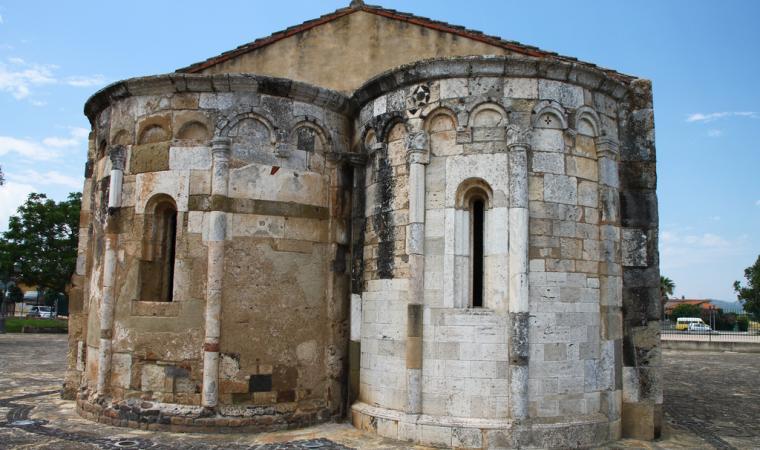 Chiesa di san Platano, abside - Villaspeciosa