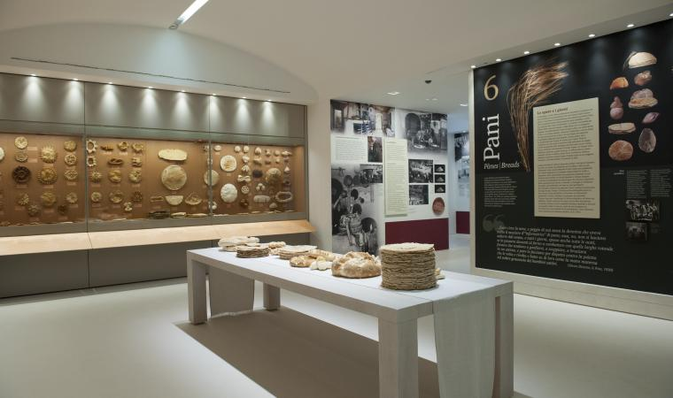 Museo del costume - sala pani