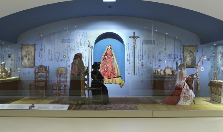 Museo del costume - sala tesoro