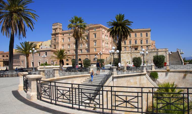 Terrazza Umberto I, bastione Saint Remy - Cagliari