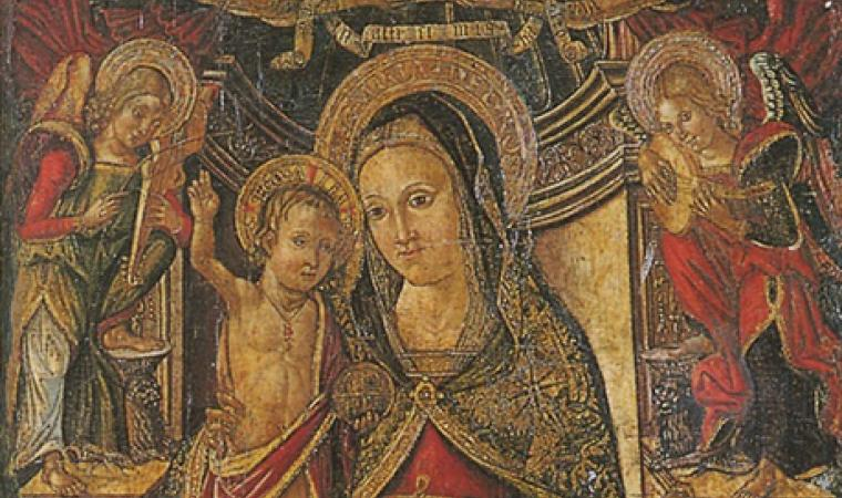 Retablo, chiesa di san Paolo - Milis