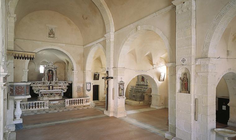 Chiesa di santa Sofia, interno - San Vero Melis
