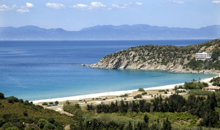 Veduta spiaggia di Solanas - Maracalagonis