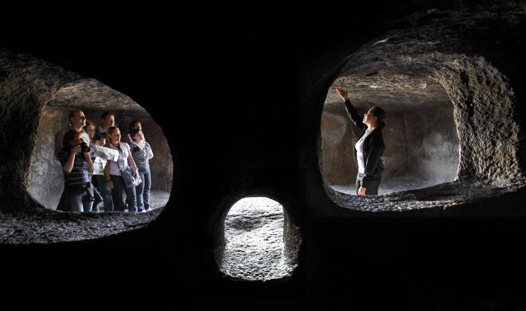 Domus de janas, interno - Montessu